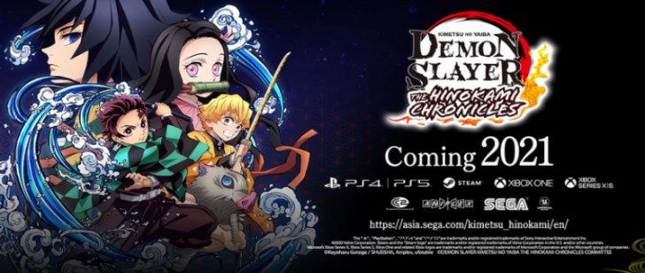 English Version of Demon Slayer: The Hikonami Chronicles Will Soon Be Available